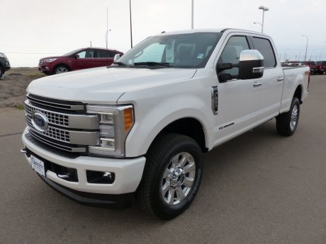 2017 Ford Super Duty F-350 SRW Platinum