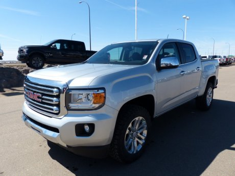 2017 GMC Canyon 4WD SLT, Remote Start, NAV, 4x4, Leather