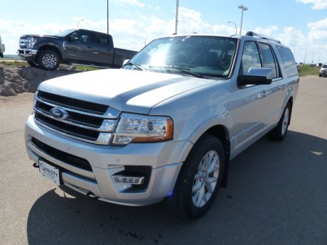 2017 Ford Expedition Max Limited, 200km Warranty, Lthr, Roof