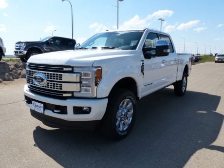 2018 Ford Super Duty F-350 SRW Platinum
