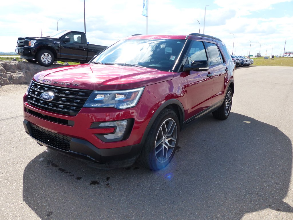 2017 ford explorer sport nav moonroof leather