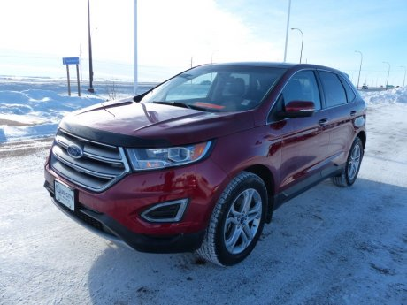 2016 Ford Edge Titanium Heated Steering Wheel, Heated Rear Seats