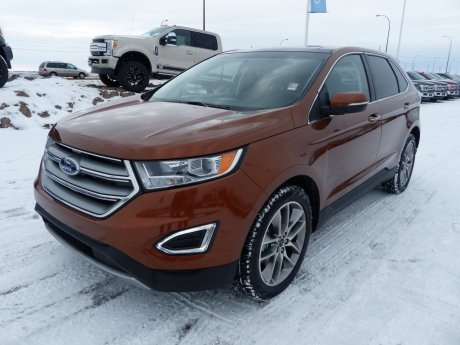 2017 Ford Edge Titanium BLIS, Adapt Cruise, Heat Seats