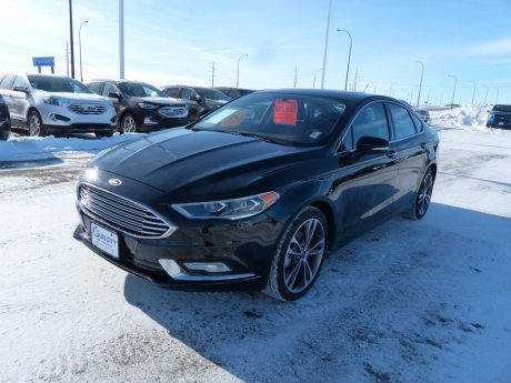 2017 Ford Fusion Titanium Leather, Nav, Remote Start