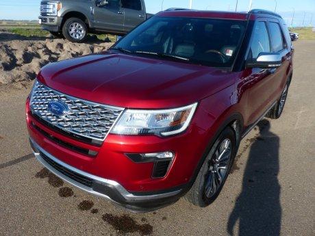 2018 Ford Explorer AWD Platinum