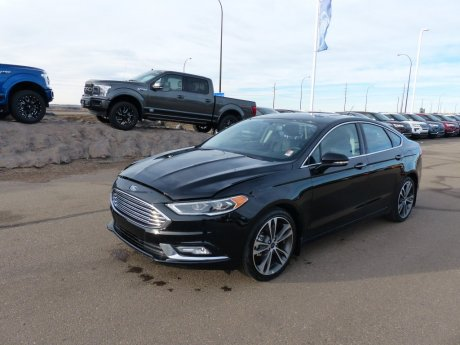 2018 Ford Fusion Titanium Heat Seats, Moonroof, Remote Start