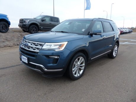 2018 Ford Explorer Limited SYNC3, Power Liftgate, Nav, Moonroof