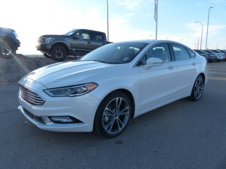 2018 Ford Fusion Titanium SYNC3, Remote Start, Moonroof