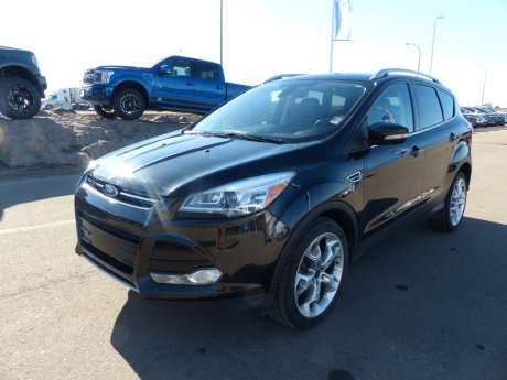 2015 Ford Escape Titanium Leather, BLIS, Nav, Moonroof