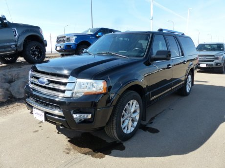 2017 Ford Expedition Max Limited BLIS, Moonroof, Leather, SYNC3