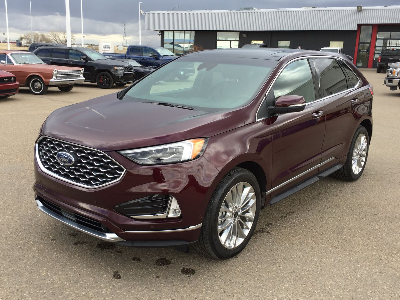 2020 Ford Edge AWD Titanium Elite Package (TR21006A) Main Image